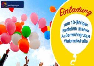 Einladung AWG 10-Jahresfeier 2